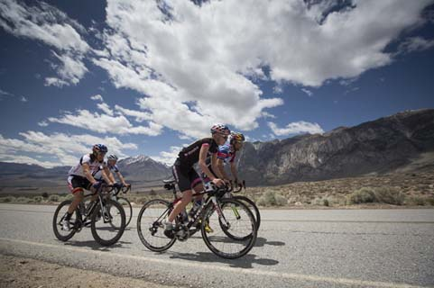 Athletes perform at Project Endurance in the Sierra Nevada Mountains in Bishop, CA on May 17, 2013.
