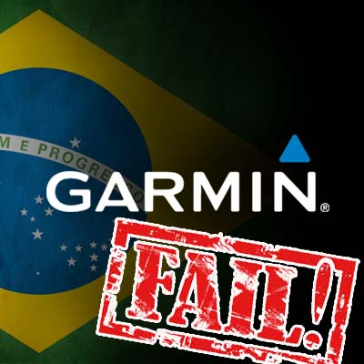 garmin fail